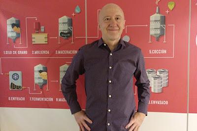 Julio Cerezo director de Sabeer la Academia de la Cerveza