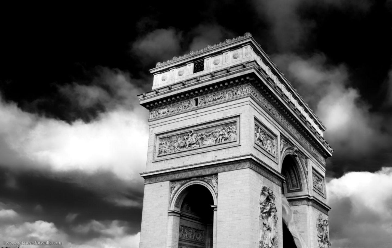 Black White Paris Wallpaper Important Wallpapers