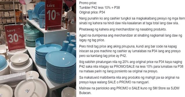Modus sa mga PROMO at SALE 'KUNO' sa loob ng sikat na Department store nag viral