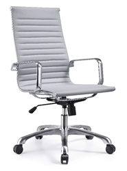 Woodstock Marketing Joplin Ribbed Back Conference Room Chair