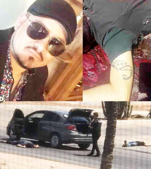 """Uno de los ejecutados en Hermosillo Sonora era """"El Boina"""" Jefe de la Plaza, tenia hasta sus corridos"""