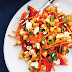 Moroccan Zucchini, Grape, and Bell Pepper Salad Recipes
