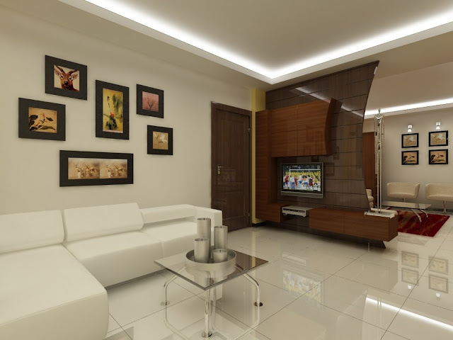 Latest modern bed and living room designs home designs for Living room designs bangalore
