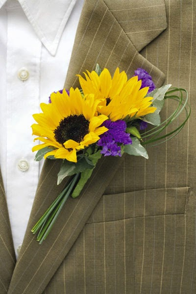 Sunflower Wedding reception Stationery - Ideal for Summer Weddings