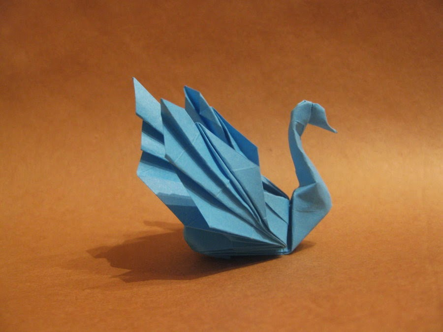 How Do You Make An Origami Swan How To Origami Swan Instructions ...   675x900