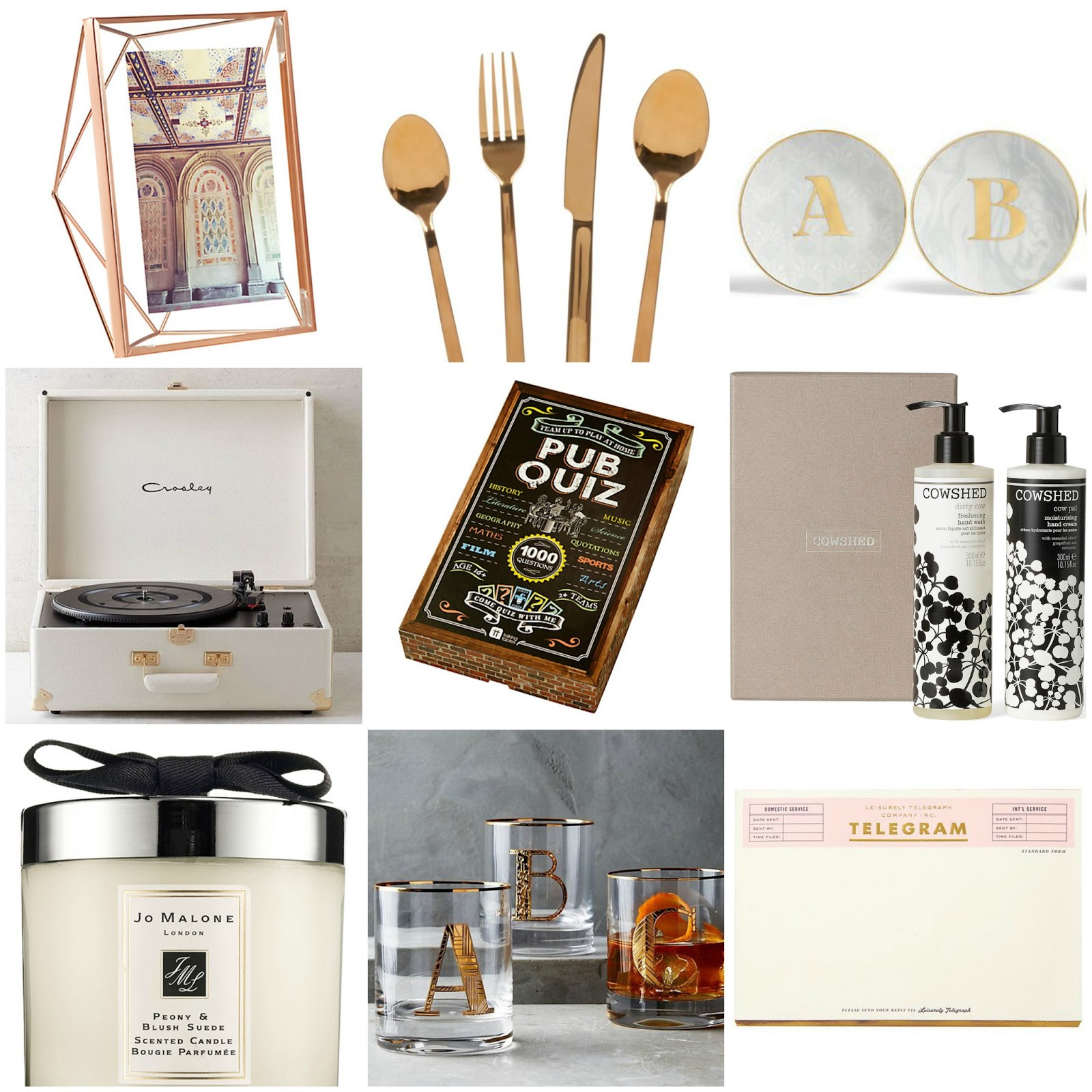 Gift Guide for Interior Lovers