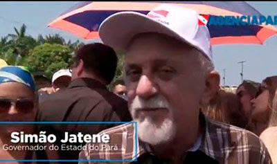 GOVERNADOR DO PARÁ, SIMÃO JATENE ENTREGA PONTE IGARAPÉ-MIRI À POPULAÇÃO