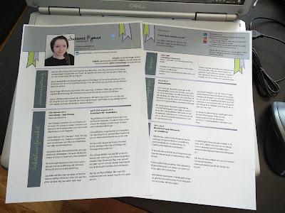Susanne Nyman - Mitt (lagom) kreativa CV