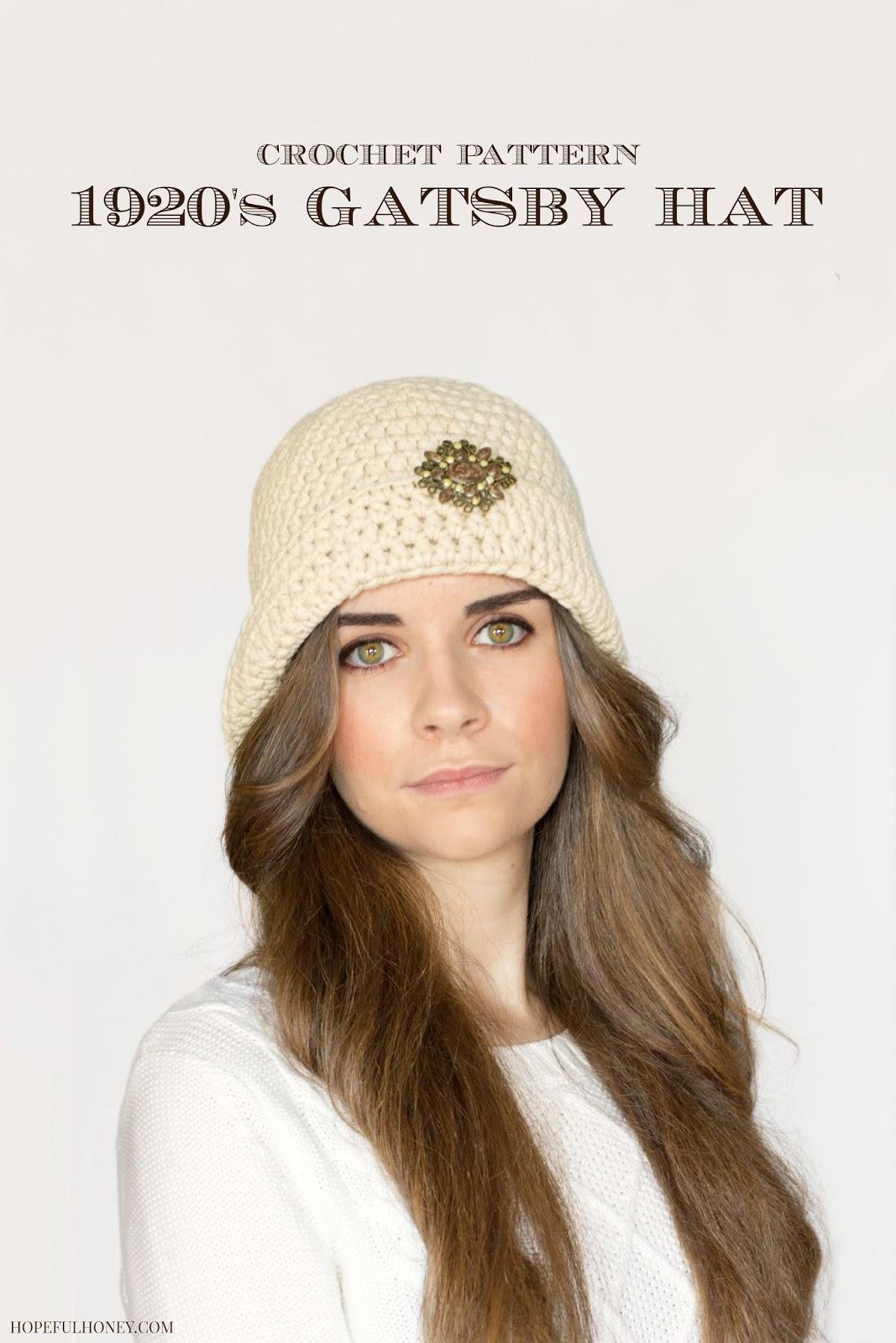 20428c014d3 1920s Jewel Flapper Hat Pattern – Craftbnb