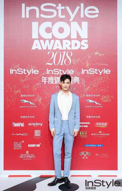 Sun Jian red carpet 2018