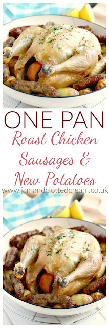 One Pan Roast Chicken, Sausage & New Potatoes