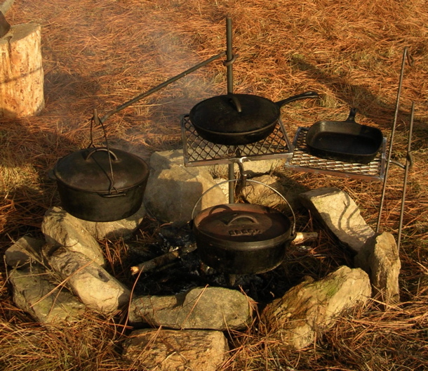 Homestead Revival: Give Away: Campfire Cooker