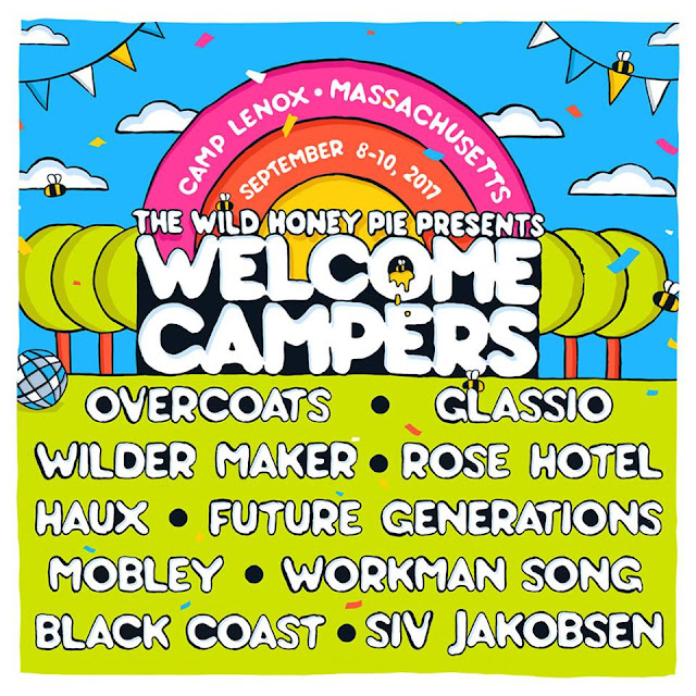 The Wild Honey Pie Presents: WELCOME CAMPERS!!!  Get Your Tickets and Bug Spray!!
