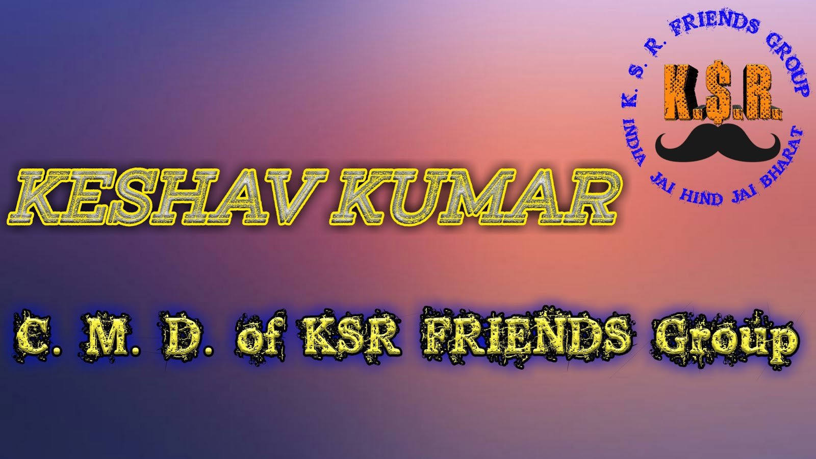 KSR FRIENDS GROUP