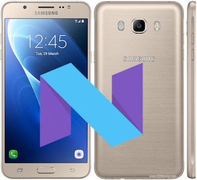 Samsung Galaxy J7 2016 Android 7 Nougat Update