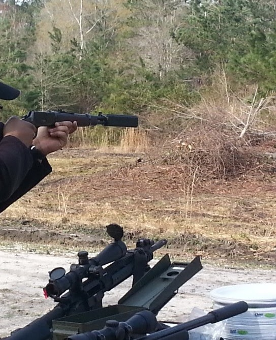 NC SILENCER: Suppressors and Other Toys: a Fun Shoot & NFA Demo