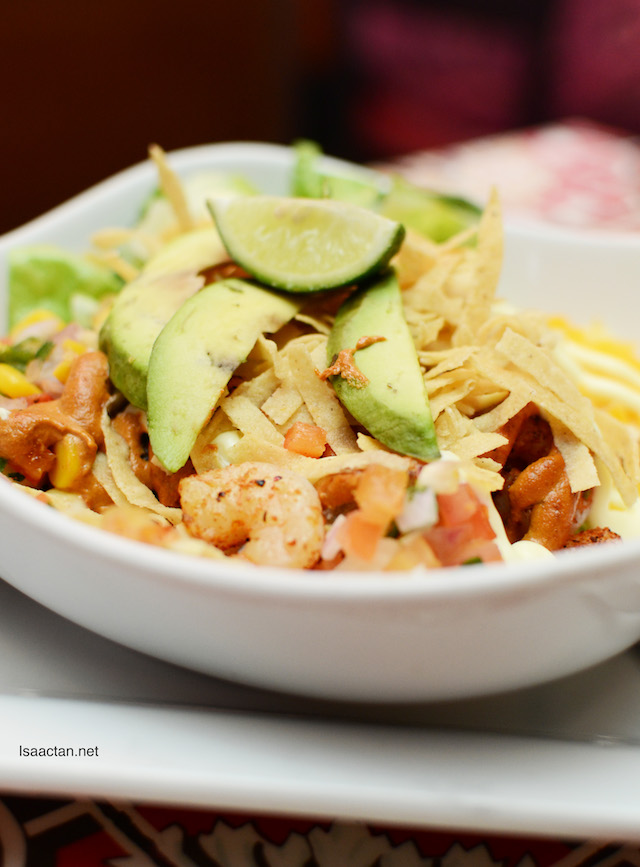 Chipotle Prawn Fresh Mex Bowl