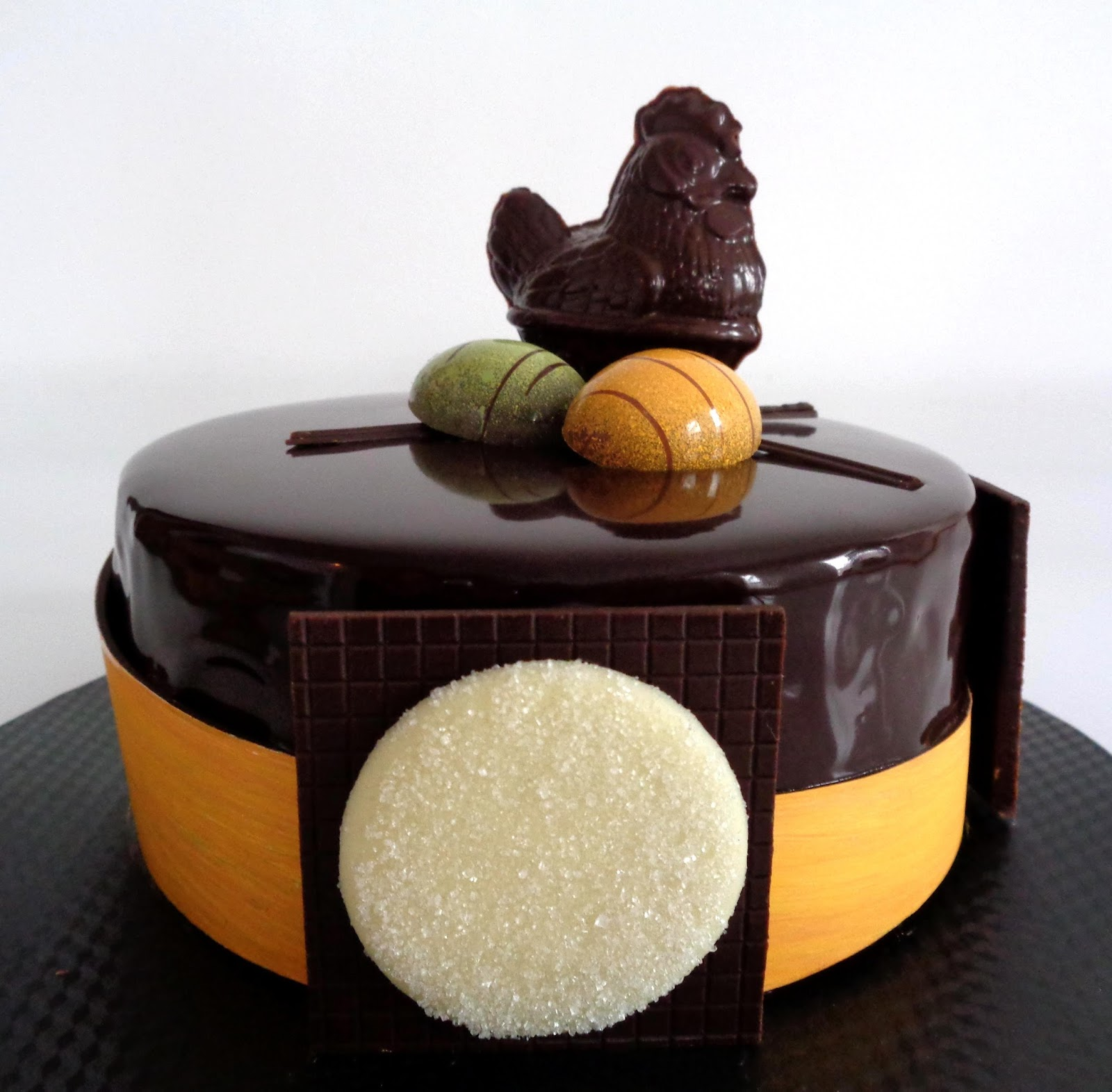 Fondant chocolat passion mangue