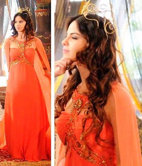 Vestido da princesa Nitocris (Stefany Brito)