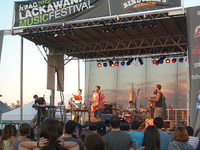 Vacationer at the Lackawanna Festival.
