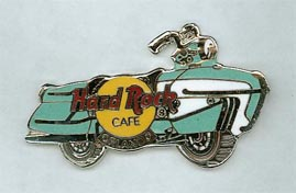 """Hard Rock Cafe Orlando Enterprise """"James Dean"""" motorcycle pin"""