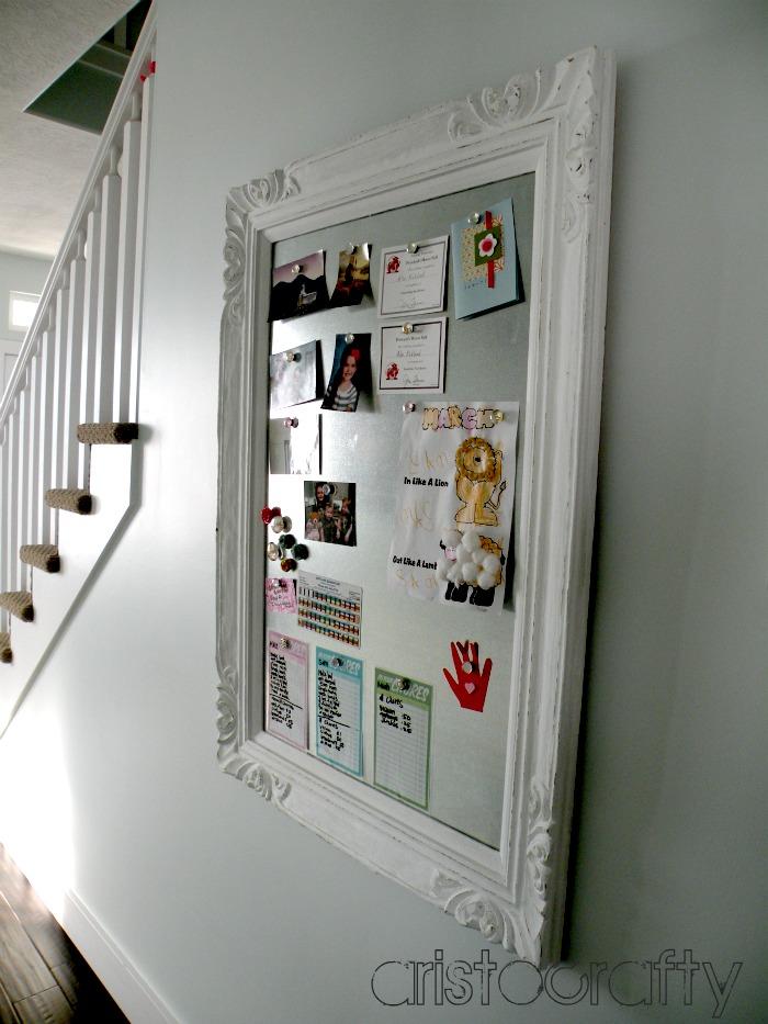 Aristocrafty: DIY Decorative Magnet Board