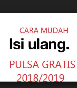 5 Aplikasi Pulsa Gratis Terbukti Membayar Update 2018