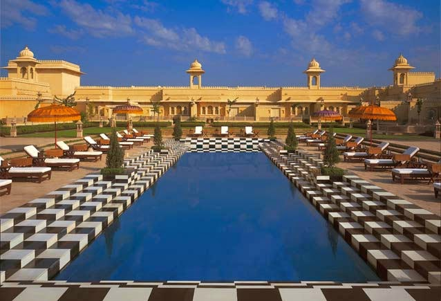2. The Oberoi Udaivilas, Udaipur, India - Top 10 Marvelous Pools in the World