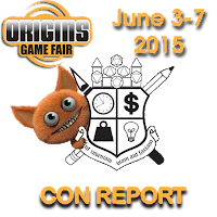 Origins 2015 Convention Report, Part 1