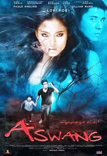 Aswang is directed and co-written by Jerrold Tarog. It stars Lovi Poe, Paulo Avelino, Albie Casiño, Jillian Ward, Marc Abaya and Niña Jose.