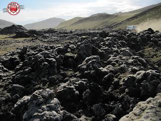 Campos de lava en Islandia