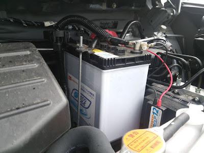 M-42のバッテリーが完全に上がってしまいました。