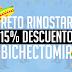15% DE DESCUENTO EN BICHECTOMÍA
