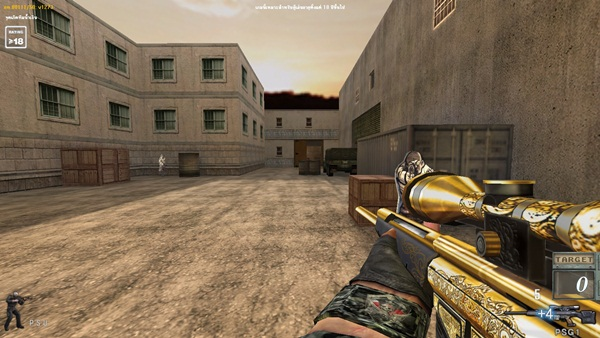 โปร SF สไนเงิน ปืนทอง Mammothz Sf