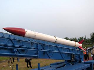 Ujicoba Roket R-HAN 450 LAPAN