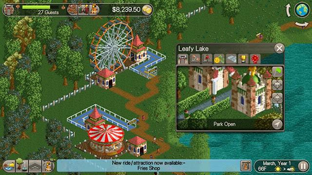 Roller Coaster Tycoon 1 : Deluxe