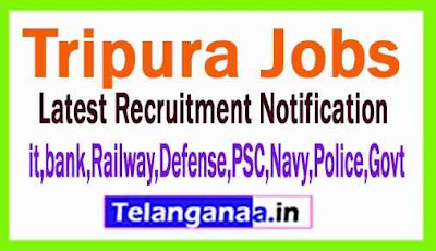 Latest Tripura Government Job Notifications