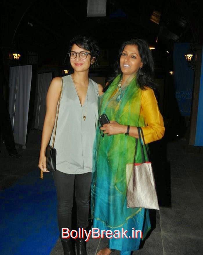Kiran Rao, Nandita Das, amyra, Kiran, Nandita at CinePlay Festival Act Opening