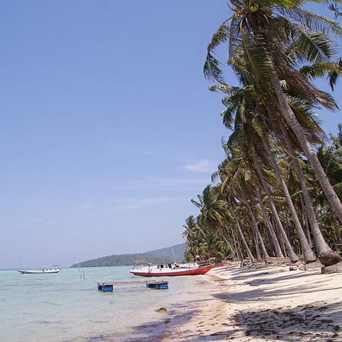 Tinuku Travel Karimunjawa National Park beautiful white sandy islands in Java Sea for diving, snorkeling and camping