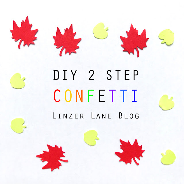 DIY 2 Step Confetti | Linzer Lane Blog