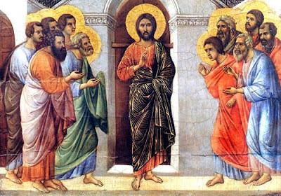 Resultado de imagem para icone Jesus e os discípulos