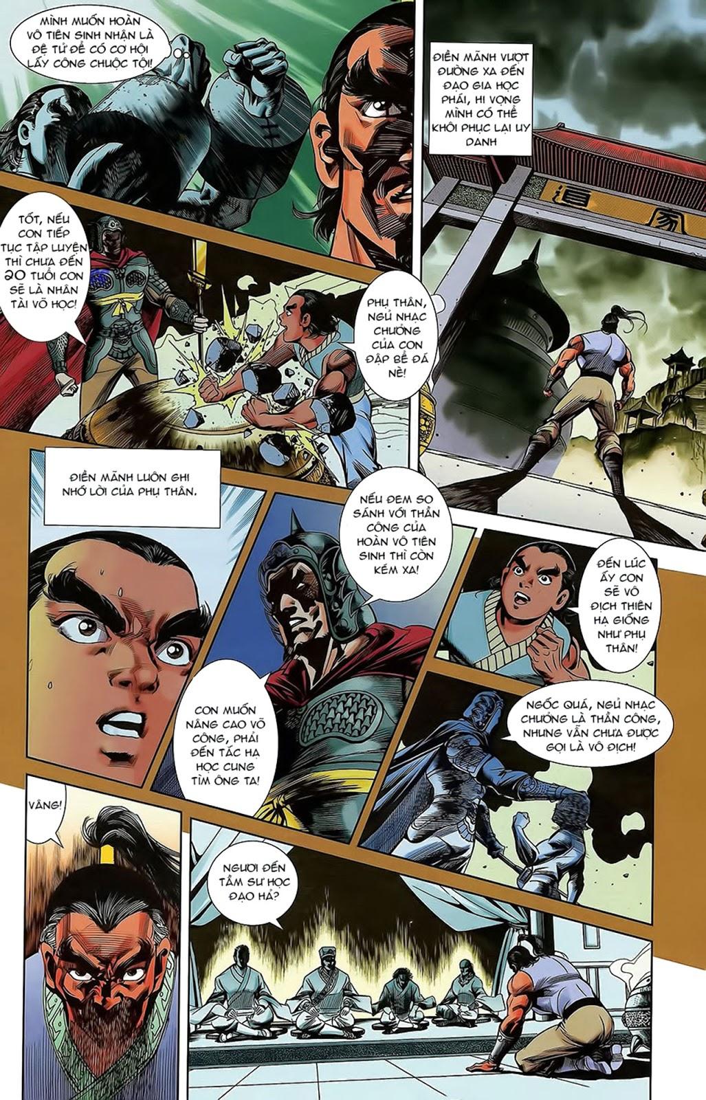 Tần Vương Doanh Chính chapter 15 trang 11