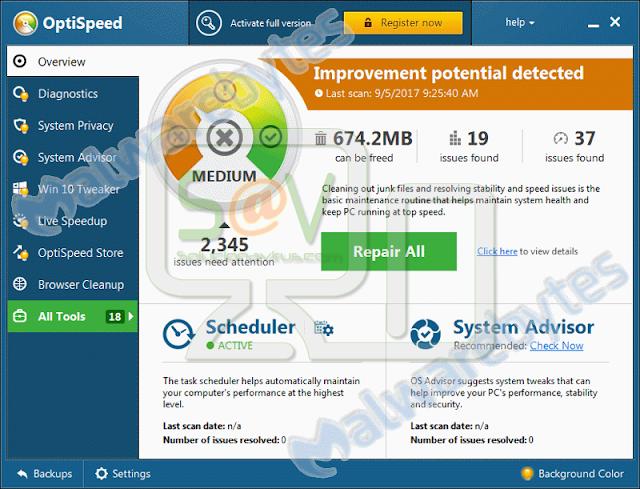 OptiSpeed (Falso optimizador)