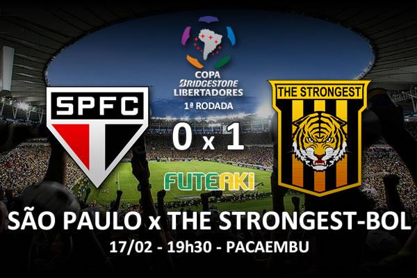 Veja o resumo da partida com o gol e os melhores momentos de São Paulo 0x1 The Strongest-BOL pela 1ª rodada da Copa Libertadores da América 2016.