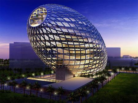 ilginç tasarımlı binalar