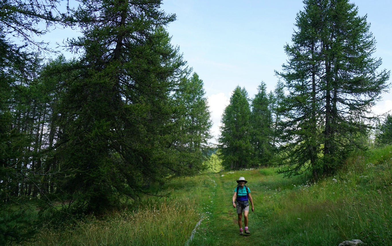 Planetary theme trail Valberg