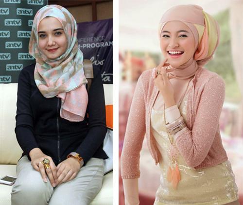 baju hijab simple modis
