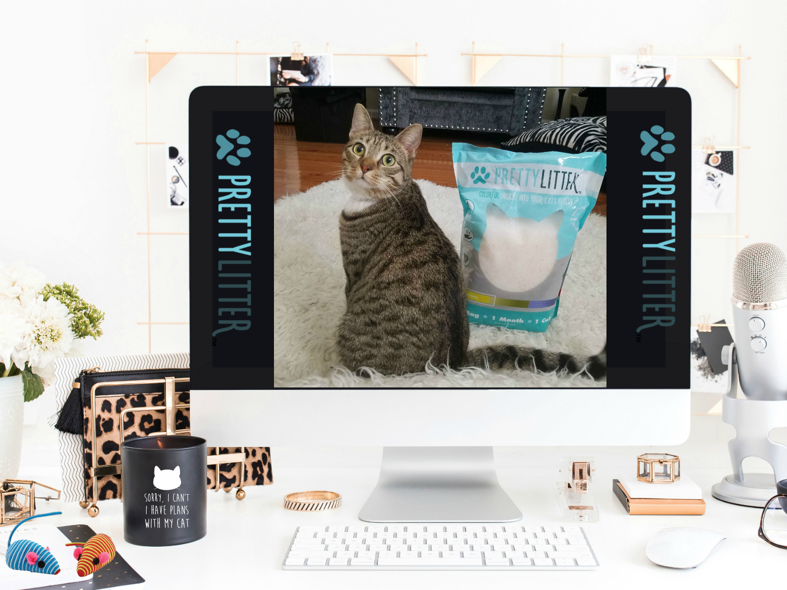 PrettyLitter - Health Monitoring Cat Litter Delivered To Your Door Monthly By Barbies Beauty Bits