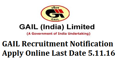 Gas Authority of India Ltd GAS Recruitment Notification Apply Online GAIL Gas Authority of India Limited Recruitment Notification for 233 Posts Apply Online for GAIL Recruitment Notification GAIL (India) Limited,gail-gas-authority-of-india-limited-recruitment-notification-apply-online  a Maharatna PSU and India's flagship Natural Gas company is integrating all aspects of the Natural Gas value chain (including Exploration & Production, Processing, Transmission, Distribution and Marketing) and its related services. In a rapidly changing scenario, GAIL is spearheading the move to a new era of clean fuel industrialization by creating a quadrilateral of green energy corridors that connect major consumption centres in India with major gas fields, LNG terminals and other cross border gas sourcing points. GAIL is also expanding its business overseas to become a formidable player in the International Market.