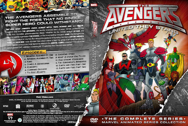 The Avengers United They Stand DVD Cover